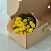 Botte de tulipes jaunes